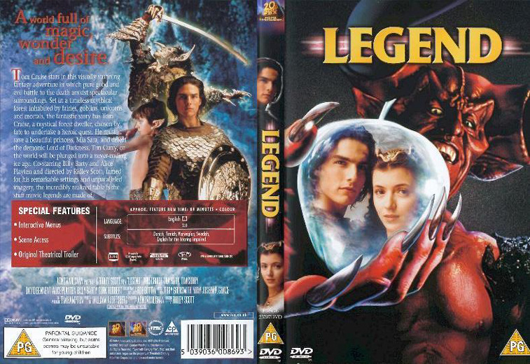 What Versions Of Legend Are Available On Blu Ray Dvd