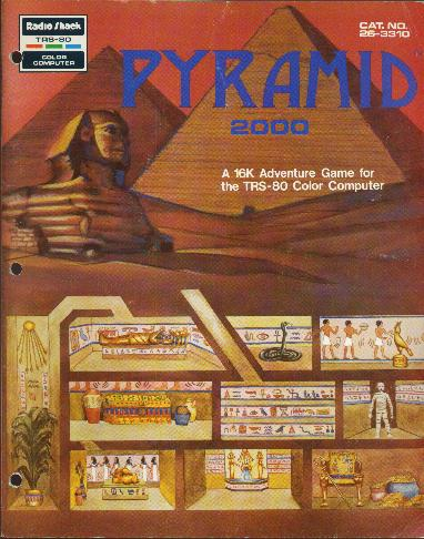 Pyramid 2000 - An Interactive Fiction game for the TRS-80